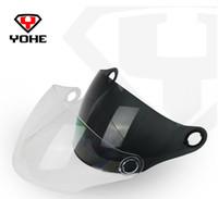 Wholesale Yohe Visor - Wholesale-Original Yohe 863A Helmet Visor Motorcycle Helmets Anti-UV&Anti-Scratched Lens&Shield Free Shipping
