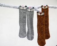 Wholesale Cute Fox Girl - Fashion new korean children socks girls cute fox polka dots socks kids socks leg A6022