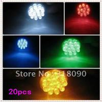 Wholesale Yellow Parking Stop - Promotion 20pcs 12LED Light 1156 1157 Tail Lamp 12 Led Turn Light Stop Bulbs S25 12 SMD Brake Light Backup Reserve Lamp