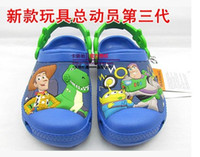 Wholesale Blocks Plane - Wholesale-Free shipping, wholesale toy block 3 d block plane garden shoes children's sandals, slippers boys and girls
