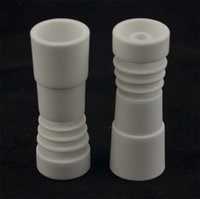 Discount new nail items - Fast Shipping, Domeless Ceramic Nail 14 mm & 18 mm FeMale - New item of 2014