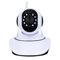 Wholesale night vision home surveillance system online - HD P Wireless IP Camera WIFI Onvif Video Surveillance Alarm Systems Security Network Home IP Camera Night Vision
