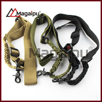 Wholesale Sling Single Point Rifle - Wholesale-Gun Slings High Strength One Point Adjustable Sling Single Point Rifle Gun Bungee Cord Gun Sling