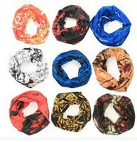 Wholesale Multi Use Head Scarf - Sport Cycling Bike Bicycle Variety seamless Magic Headband Veil Multi use Head Scarf Scarves dust mask Bandanas Headwear kerchief by DHL