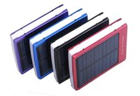 Hot 30000 mAh Solar Battery Panel External Charger Dual 30000mah Solar Carregar Portas