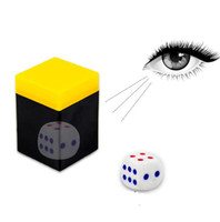Hot Selling Ouvir Dice Box-magic Props Magic Tricks Brinquedos Talking Dice Telescope Binóculos Magic Toys YH1074