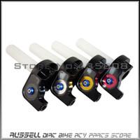 Wholesale Throttle Settle - Throttle Grips Settle & twist gas throttle For Dirt Pit Bike OFF-ROAD Motorcycle