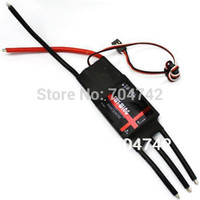 Wholesale Rc Esc Brushless Bec - Wholesale-SkyWing Brushless Motor 100A ESC 5A   5V BEC 2-6S for RC Airplane Aircraft New Speed Controller ESC RC02679