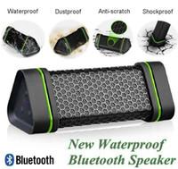 Wholesale Speaker Amplifer - EARSON ER151 Portable Bluetooth Speaker Outdoors Wireless Handsfree A2DP Waterproof Shockproof Stereo Speakers Amplifer for iPhone Samsung