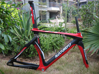 Wholesale Special Carbon Road Frame - Wholesale-Specials !! Free Shipping !! 2015 Naturefly Carbon Track Frame 700c Red Black White
