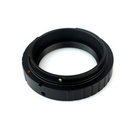 Wholesale Eos Adapter - New DSLR Camera Mount Adapter T2 T-Ring M42x0.75mm for Canon EOS Cameras Telescope Adapter W2054A