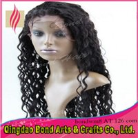 Remy cabelo laço frente perucas Full Lace Wigs, curto Curly 6