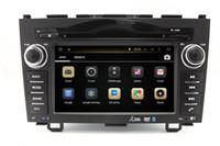 Wholesale Dvd Gps Navigation Crv - Android 4.4 Car DVD Player for Honda CRV 2006-2011 with GPS Navigation Radio Bluetooth TV USB SD AUX MP3 WiFi Head Unit