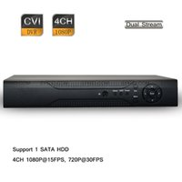 CCTV H.264 4CH HD 1080P Registrazione di HDMI Audio HD-CVI Standalone DVR Multilingue