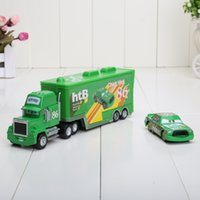 Wholesale Cars Toys 86 Truck - PIXAR Cars 2 Toys CARS 2 #86 TRUCK AND CHICK HICKS #86(MACK)