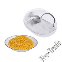 Wholesale Corn Separator - Magic Cooking Tools Corn Stripper Creative Facilitate Corns Separator Stripped Device Kitchen Accessories Gadgets 00768