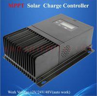 Wholesale Solar Controller Mppt 48v - Safe 45a ce rohs 12v 24v 48v automatic mppt solar charge controller