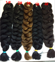 x trenzas de pelo pression al por mayor-100% kanekalon 82 pulgadas 165g X-pression Ultra Braid Hair Extension Bulk Hair Kanekalon Jumbo Super X Braid Hair