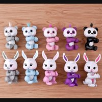 6 Funções Finger Panda the Unicorn Sloth Finger Rabbit Smart Touch Fingers Interativo Monkey Finger Toy Party Favor Com Pacote de Varejo