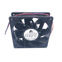Wholesale 12v Server Fans - TFC1212DE Delta 120mm DC 12V 5200RPM 252CFM For Bitcoin Miner Powerful Server Case AXIAL cooling Fan for S7 S9