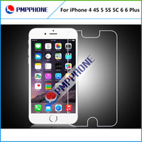 Wholesale Glass Screen S3 Iphone - For iphone 4 4S 5 5S 5C 6 6P Samsung S3 S4 S5 Note2 Note3 Note4 Premium Real Tempered Glass Film Screen Protector