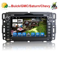 Wholesale car dvd Android quot HD Capacitive touch screen car stereo for Buick Enclave Lucerne dvd gps navigation radio TV G WIFI Audio Player