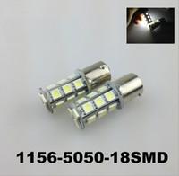 ingrosso 1157 lampadine a led-8SMD 5050 LED 1156 / BA15S / P21W / 67/89 / T25 Lampadina luce di retromarcia per retromarcia auto bianco / rosso / blu