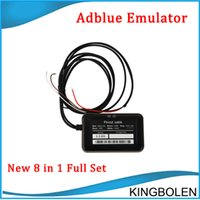 Wholesale Adblue Emulator Volvo - A+ Quality Support euro 6 2017 Newly Professional Adblue 8in1 New Arrival 8 in 1 AdBlue Emulator V3.0 with NOx sensor Free Shipping