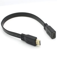 Wholesale Extension Hdmi Male Female - 0.5M 1.4 Verison High Speed HDMI with Ethernet Male to Female M F Extension Flex Ribben Cable 1080P Shielding