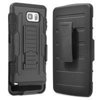 Wholesale Galaxy Note Clip - Future Armor Rugged Defender Holster Belt Clip Protection Hybrid Kickstand Case For Samsung Galaxy Note 4 5 8 Shockproof
