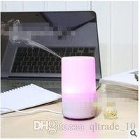 Wholesale Aroma Therapy - 30pcs CCA2006 2015 Hot Sale Hot Simple Night Light LED USB Essential Oil Ultrasonic Air Humidifier Aroma therapy Diffuser Reliable Supply