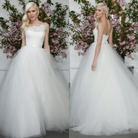Wholesale Top Princess Bride Dress - Gorgeous Wedding Dresses 2015 Princess Style Bohemian Low Back Lace Top Tulle Bridal Gowns Custom Made Plus Size Brides Formal Gowns