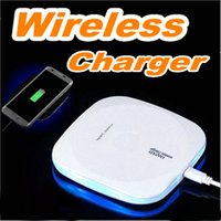 Wholesale Phone Charging Pads - New Arrival Qi Wireless Charger For iPhone X 10W fast Charging Pad For Samsung Note 8 Galaxy S8 Plus S7 Edge Mobile Phone Chargers OM-O2