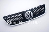 sporty vw - Sporty Honey Comb Front Grille With Chrome GTI Edge For VW Polo N3
