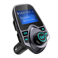 Wholesale mp3 player retail package for sale - T11 Bluetooth Speaker Car MP3 Music Player with LED Screen USB Charger Support TF Card U Disk with Retail Package