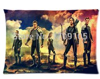 """Wholesale Hunger Games Prints - Custom Your Photos Comfortable Pillowcase The Hunger Games Pillow case Covers Standard Size 20""""x30"""" Inch"""