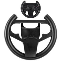 Wholesale steering controller for sale - Group buy Steering Racing Wheel Holder for Playstation Dualshock PS4 Gaming Controller Joypad Hand Grip Compact Durable Retail Box