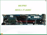 Wholesale Intel I7 Motherboards - High Quality MB 00UP985 For Lenovo Thinkpad X1 Carbon Laptop Motherboard LMQ-1 48.4LY26.021 SR1EA I7-4600U 8GB RAM 100% Tested