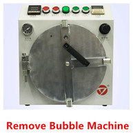 Wholesale Bubble Buttons - New Secure LCD Bubble Removal Machine Button Key Pressure control Big Size Defoaming Space LCD Screen Repair for iphone samsung universal
