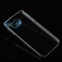 Wholesale diy iphone cases - For iphone X 8 Ultra thin Crystal Clear Hard Case Slim Transparent PC Plastic DIY Skin Back Cover for iPhone 7 plus Samsung S8 Note 8