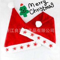 Wholesale Makeup Chairs - Wholesale-2015 Real Makeup Chair Eyebrow Scissors Manufacturers Selling Star Lamp Cap Christmas Party Must Decorate The Products Wholesale
