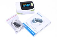 Wholesale Hot Selling OLED Fingertip Pulse Oximeter alarm Spo2 Blood Monitor directions modes English Spanish