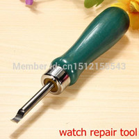 Wholesale Useful Watch Back Case Opener Knife Pry Lever Snap Repair Tool Kit For Watchmaker