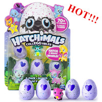 Wholesale Wholesale Music Eggs - Hatching Eggs Interactive Cute Fantastic Growing Hatchimals Chrismas Gifts for Kids, Smart Toys for Children Education 4 PCS hot hot!!