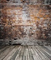 Wholesale Simple No Wrinkle Photography Backdrops cm ft Broken Wooden Bricks Wall Background Vinyl Photography Backdrop Photo Studio