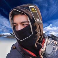 Wholesale Balaclava Army Black - New Winter Hats Skull Motorcycle Balaclava CS Face Mask Z-1897