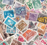 Wholesale Buy Stamps - Wholesale-[GTT] Used 100 PCS, Different Rand Postage Stamps ,Off Paper, Post Stamp From many Country , buy 2 Lots ,get 200 Different