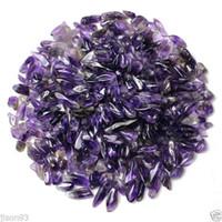 bergkristall-chips großhandel-HEIßES NEUES 50g 100% natürliches Los der kleinen freien Amethyst-Quarz-Kristall-Felsen-Chips