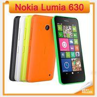 "Wholesale Dual Sim Windows Mobile - Unlocked Dual Sim Mobile Phone Original Nokia Lumia 630 Windows phone 8.1 Snapdragon 400 Quad Core 4.5"" Screen 3G mobile phone"