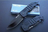 Wholesale Pocket Fishing - COLD STEEL AK47 AK-47 Tactical Knife Aircraft Aluminum Handle Hunting Folding Pocket Knife free shipping 1pcs